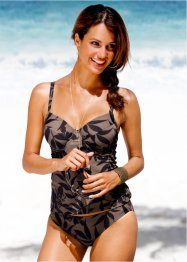 Tankini, bpc selection, Nero / marrone