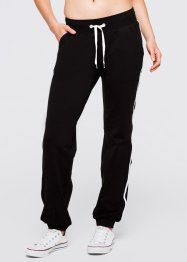 Pantaloni da jogging, bpc bonprix collection, Nero