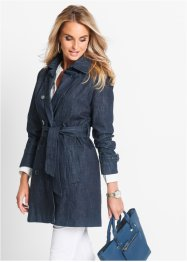 Trench di jeans, bpc selection, Dark blu stone