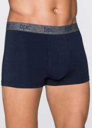Boxer (pacco da 3), bpc bonprix collection, Ardesia / blu scuro