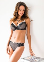 Reggiseno, bpc selection, Nero / cipria