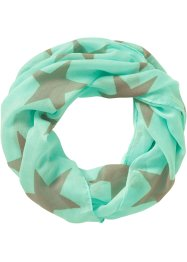 "Sciarpina ad anello ""Star"", bpc bonprix collection, Menta"
