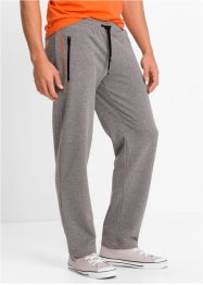 Pantalone da jogging regular fit, bpc bonprix collection, Grigio melange