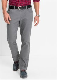 Pantalone 5 tasche elasticizzato slim fit, bpc bonprix collection, Marrone scuro
