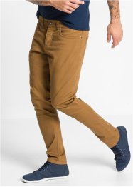 Pantalone elasticizzato slim fit straight, RAINBOW, Bluette