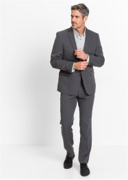 Completo slim fit (set 2 pezzi), bpc selection, Antracite