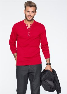 Pullover slim fit, RAINBOW, Rosso scuro