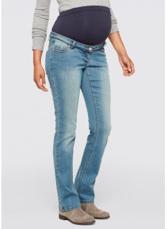 Jeans prémaman bootcut, bpc bonprix collection, Medium blu bleached