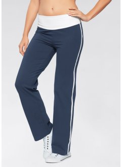 Pantaloni palazzo, bpc bonprix collection, Blu scuro