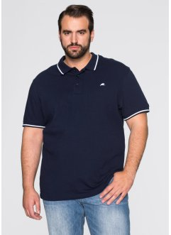 Polo regular fit, bpc bonprix collection, Blu scuro