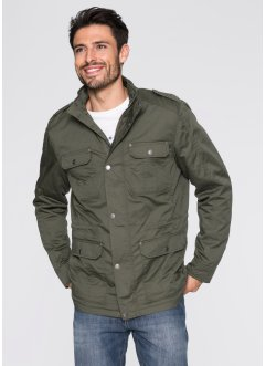 Giacca regular fit, John Baner JEANSWEAR, Verde oliva scuro