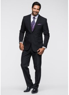 Completo (set 5 pezzi) slim fit, bpc selection, Nero