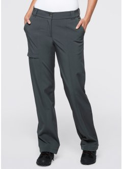 Pantaloni in softshell, bpc bonprix collection, Antracite