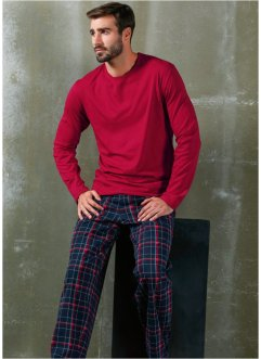 Pigiama, bpc bonprix collection, Rosso a quadri