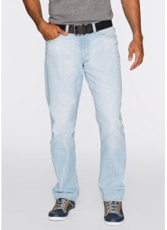Jeans loose fit diritto, John Baner JEANSWEAR, Azzurro used