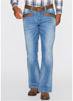 Jeans regular fit bootcut, John Baner JEANSWEAR, Antracite used