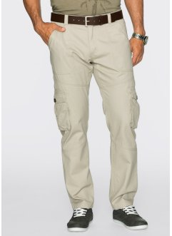 Pantalone cargo regular fit, bpc bonprix collection, Beige