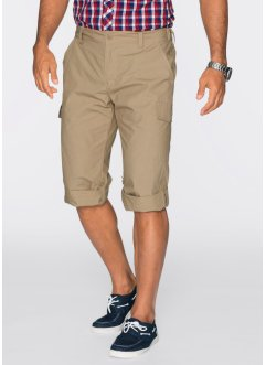 Pantalone 3/4 regular fit, bpc bonprix collection, Beige