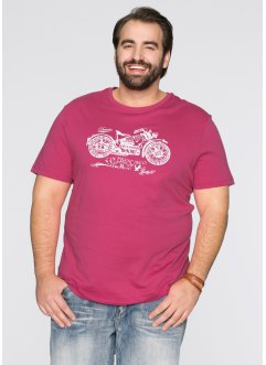 T-shirt regular fit, John Baner JEANSWEAR, Fucsia medio