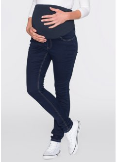 Jeans super elasticizzato skinny prèmaman, bpc bonprix collection, Dark blu stone