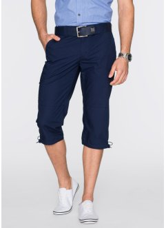 Pantalone 3/4, bpc bonprix collection, Blu scuro