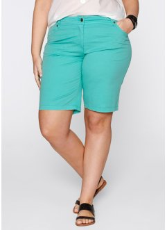 Bermuda, bpc bonprix collection, Verde mare
