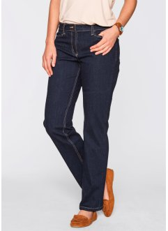 Jeans elasticizzato modellante, bpc bonprix collection, Dark denim