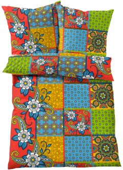 "Biancheria da letto ""Patch"", bpc living, Multicolore"