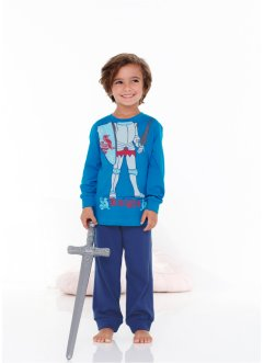 Pigiama, bpc bonprix collection, Blu Capri / blu notte