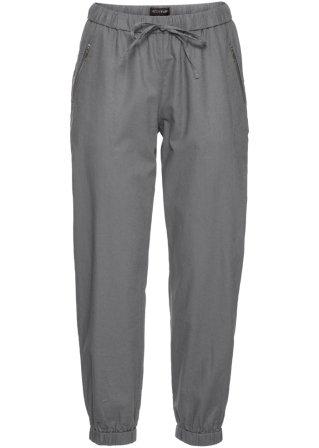 Pantalone 7/8 in misto lino