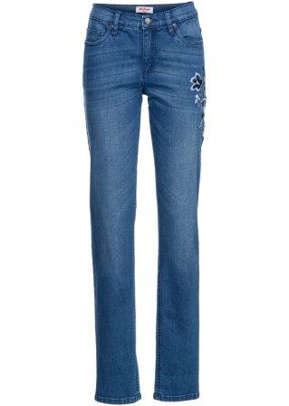 Jeans elasticizzato Authentic con ricamo CLASSIC
