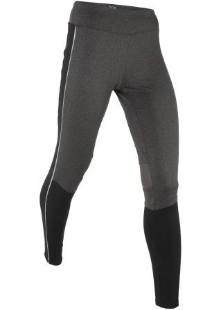 Pantalone termico da corsa lungo con riflettenti livello 3