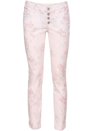 Pantaloni skinny a fiori