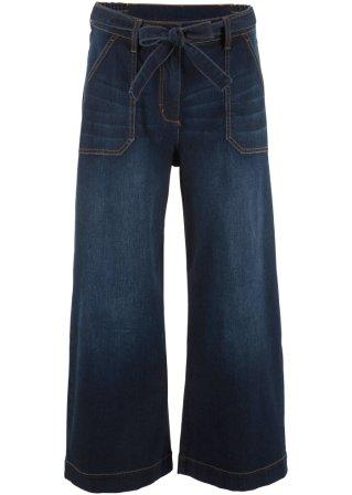 grandi risparmi Jeans a vita alta con cintura loose fit cropped