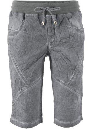 Shorts con lavaggio used