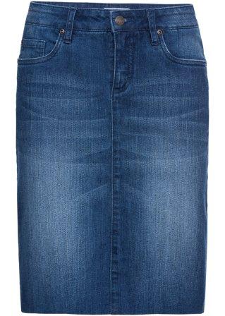 Prezzo ragionevole Gonna di jeans elasticizzata