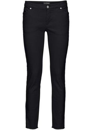 Pantalone elasticizzato 7/8 con frange