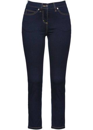 Jeans alla caviglia ultra elasticizzati
