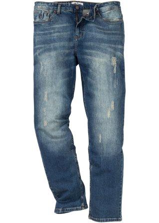 Jeans elasticizzato regular fit tapered