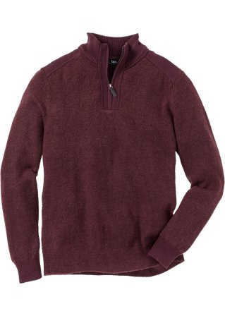 Pullover con cerniera regular fit