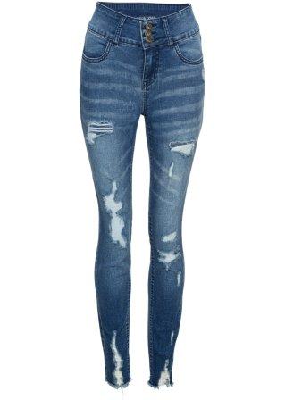 Jeans a vita alta strappati
