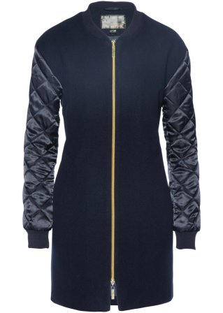Giacca lunga in stile bomber