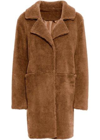 Cappotto in pellicciotto sintetico