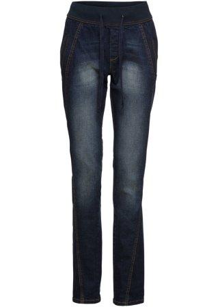 Jeans boyfriend con cinta elastica