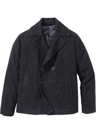 Originale di 100% Giacca caban in panno simil lana