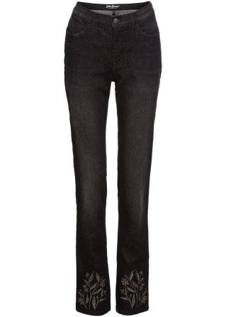 Jeans elasticizzato Authentik con ricami SLIM