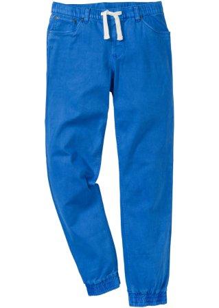 Pantalone elasticizzato senza chiusura regular fit straight