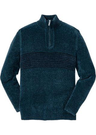 Confortevole Pullover in ciniglia regular fit