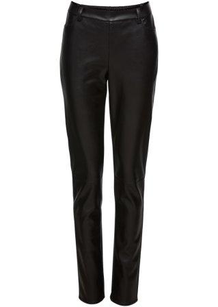Pantalone in similpelle elasticizzata