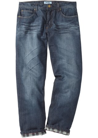 Jeans termico regular fit straight